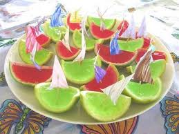 Kids Party Food - Jelly Oranges